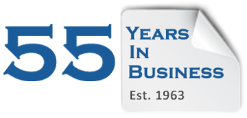 Custom Labels - 55 Years in Business