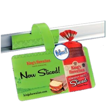 retail label shelf talker