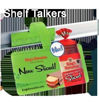 retail label shelf talker